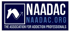 NAADAC, Association for Addiction Professionals for U.S. Department of Transportation Substance Abuse Professional logo image
